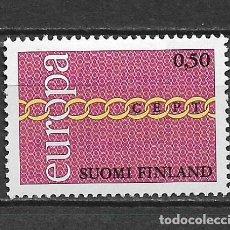 Sellos: FINLANDIA 1971 EUROPA CEPT ** NUEVO - 2/30. Lote 152226270