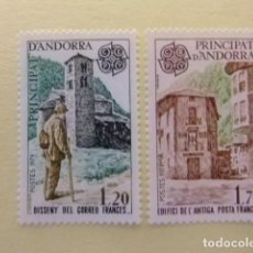 Stamps - ANDORRA FRANCESA 1979 Europa CEPT Arquitectura Yvert 276 / 77 ** MNH - 154278898