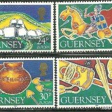 Sellos: GUERNESEY 1994 IVERT 643/6 *** EUROPA - LOS DESCUBRIMIENTOS. Lote 154823298