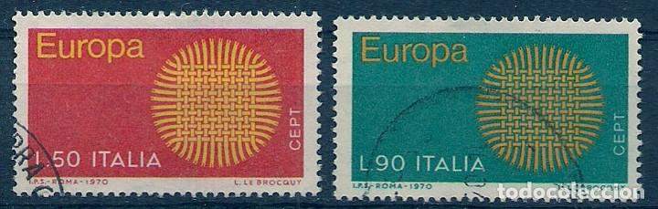 ITALIA - EUROPA CEPT 1970 - MATASELLADOS (Sellos - Temáticas - Europa Cept)