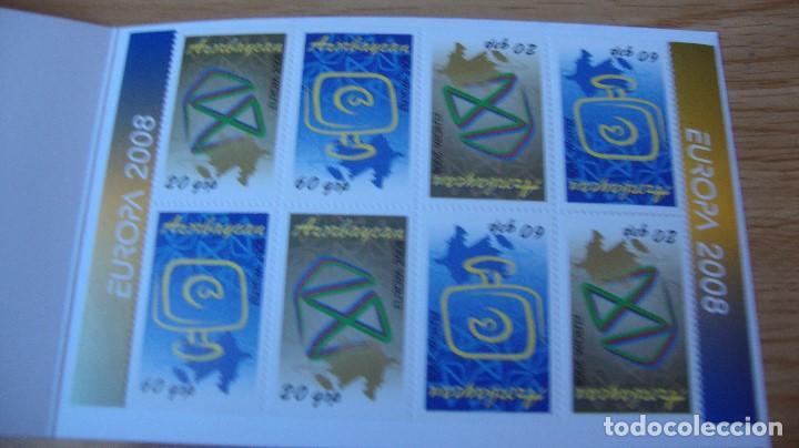 Sellos: TEMA EUROPA CANET AZERBAIYAN AÑO 2008 PERFECTO - Foto 2 - 159425390
