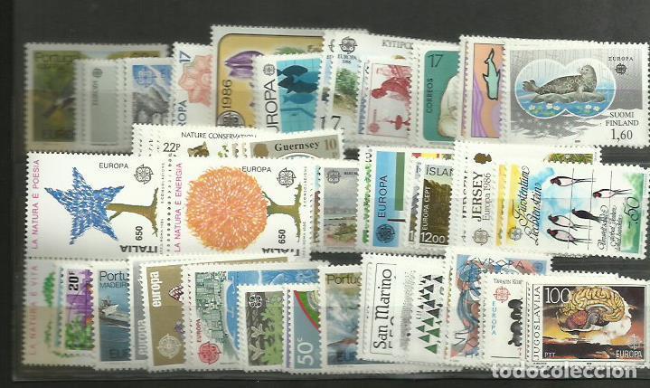 73 SELLOS TEMA EUROPA 1986 NUEVOS PERFECTOS, PRECIO CATALOGO 225 EUROS (Sellos - Temáticas - Europa Cept)