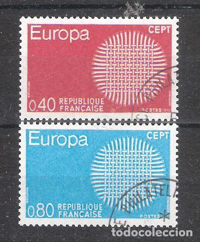 FRANCIA Nº 1637/1638º EUROPA 1970. SERIE COMPLETA (Sellos - Temáticas - Europa Cept)
