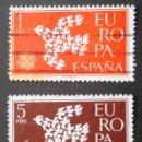 Sellos: SERIE COMPLETA 1961 ESPAÑA EUROPA CEPT. Lote 163417442