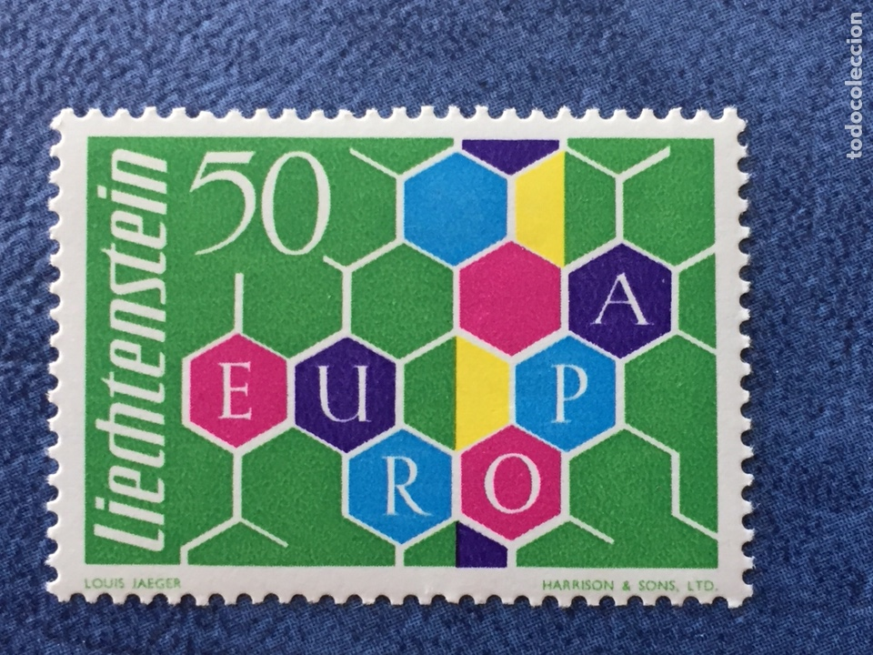 LIECHTENSTEIN EUROPA CEPT 1960 YVERT 355 NUEVO PERFECTO CATALOGADO 150€ (Sellos - Temáticas - Europa Cept)