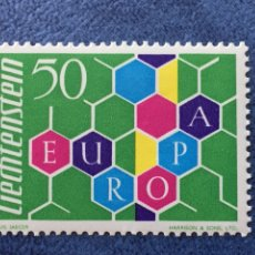 Sellos: LIECHTENSTEIN EUROPA CEPT 1960 YVERT 355 NUEVO PERFECTO CATALOGADO 150€. Lote 163967980
