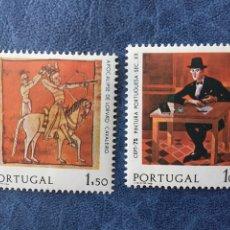 Sellos: PORTUGAL 1975 EUROPA CEPT NUEVO PERFECTO YVERT 1261/2 CATALOGADO 175€. Lote 163975185