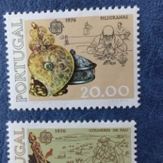 Sellos: PORTUGAL EUROPA CEPT 1976 NUEVO PERFECTO YVERT 1291/2 CATALOGADO 150€. Lote 163975776