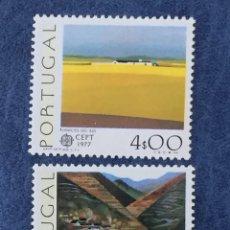 Sellos: PORTUGAL EUROPA CEPT 1977 YVERT 1340/1 NUEVO PERFECTO. Lote 163976424