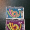 Sellos: SELLOS P. LIECHTENSTEIN NUEVOS/1973/EUROPA CEPT/UNIONES, SERVICIOS POSTALES/UNION EUROPEA. Lote 164764294
