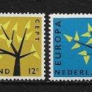 Sellos: HOLANDA 1962 ** NUEVO EUROPA CEPT - 5/20. Lote 164794014