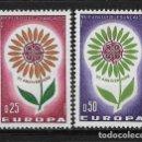Sellos: FRANCIA 1964 ** NUEVO EUROPA CEPT - 5/20. Lote 164796314