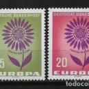 Sellos: ALEMANIA 1964 ** NUEVO EUROPA CEPT - 5/20. Lote 164796506