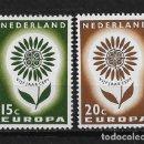 Sellos: HOLANDA 1964 ** NUEVO EUROPA CEPT - 5/20. Lote 164796990