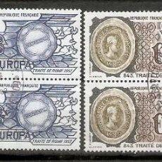Sellos: FRANCIA.1982. YT 2207,2208.EUROPA. Lote 165762754