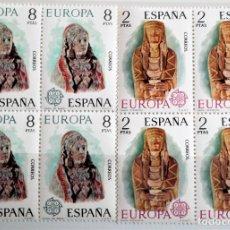 Timbres: ESPAÑA. 2177/78 EUROPA-CEPT: DAMA OFERENTE Y DAMA DE BAZA, EN BLOQUE DE CUATRO. 1974. SELLOS NUEVOS. Lote 180418057