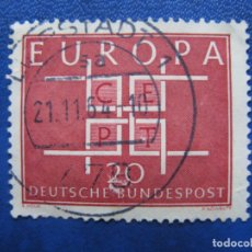 Sellos: ALEMANIA OCCID. 1963* EUROPA, YVERT 279. Lote 171047590