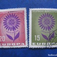Sellos: ALEMANIA OCCID. 1964* EUROPA,YVERT 313/14. Lote 171049629