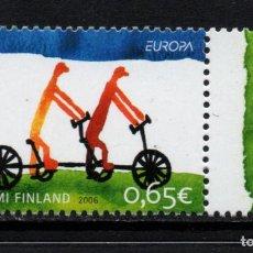 Sellos: FINLANDIA 1773** - AÑO 2006 - EUROPA - LA INTEGRACION. Lote 171605828