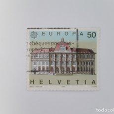 Francobolli: SUIZA TEMA EUROPA SELLO USADO. Lote 173411408