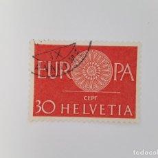 Sellos: SUIZA TEMA EUROPA SELLO USADO. Lote 173411615