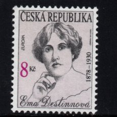 Sellos: CHEQUIA 112** - AÑO 1996 - EUROPA - MUJERES CELEBRES. Lote 173797559