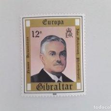 Sellos: GIBRALTAR TEMA EUROPA SELLO NUEVO. Lote 173807075