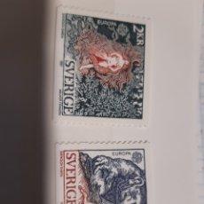 Sellos: SUECIA 1981 TEMA EUROPA CEPT. Lote 174146333