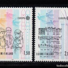 Sellos: FINLANDIA 932/33** - AÑO 1985 - EUROPA - AÑO EUROPEO DE LA MUSICA. Lote 174243464