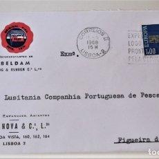 Francobolli: PORTUGAL. 1032 EUROPA-CEPT: LLAVE. 1968. MATASELLO PRIMER DÍA. Lote 176717048