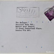 Francobolli: GIBRALTAR. 495 EUROPA-CEPT: MÚSICA. 1985. SOBRE CIRCULADO. Lote 176717053