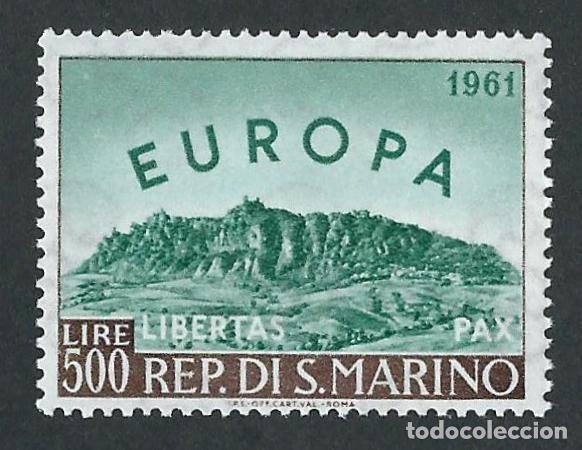 SELLO SAN MARINO 1961 Y&T 523** EUROPA CEPT (Sellos - Temáticas - Europa Cept)