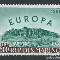 Sellos: SELLO SAN MARINO 1961 Y&T 523** EUROPA CEPT. Lote 177838720