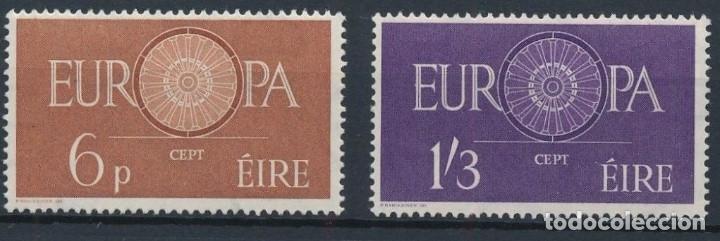 SELLOS IRLANDA 1960 Y&T 146/7** EUROPA CEPT (Sellos - Temáticas - Europa Cept)