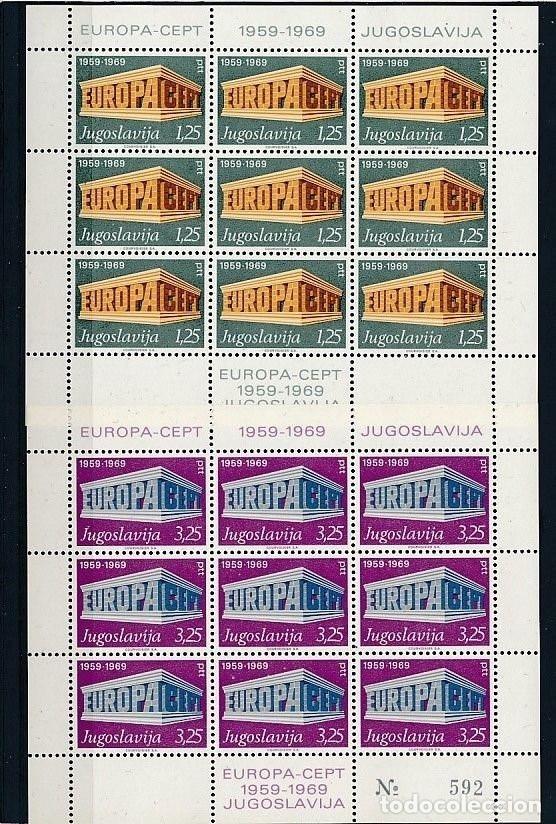 YUGOSLAVIA 1969 Y&T 1252/53** EUROPA CEPT (Sellos - Temáticas - Europa Cept)