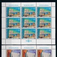Sellos: YUGOSLAVIA 1990 Y&T 2283/84** EUROPA CEPT. Lote 178619475