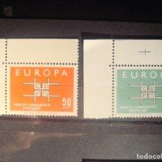 Sellos: EUROPA CEPT TURQUIA SET CON BORDE DE HOJA **. Lote 179149190