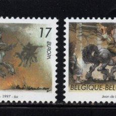 Sellos: BELGICA 2694/95** - AÑO 1997 - EUROPA - CUENTOS Y LEYENDAS. Lote 179173791