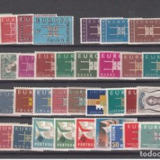 Sellos: EUROPA 1963 - AÑO COMPLETO NUEVO SIN FIJASELLOS - 36 SELLOS---PUEDE SOLICITAR LOS SELLOS QUE LE FALT. Lote 181755455