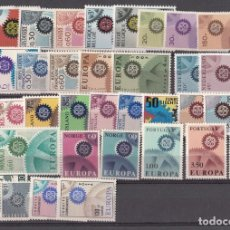 Sellos: EUROPA 1967 - NUEVO SIN FIJASELLOS 37 SELLOS -PUEDE SOLICITAR LOS SELLOS QUE LE FALTEN. Lote 182174306