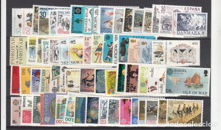 Sellos: EUROPA 1981 - NUEVO SIN FIJASELLOS 69 SELLOS + 4 HB -PUEDE SOLICITAR LOS SELLOS QUE LE FALTEN - Foto 2 - 182199145