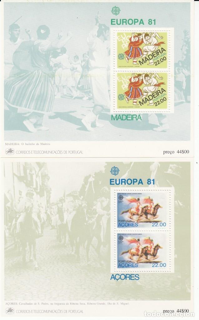 Sellos: EUROPA 1981 - NUEVO SIN FIJASELLOS 69 SELLOS + 4 HB -PUEDE SOLICITAR LOS SELLOS QUE LE FALTEN - Foto 4 - 182199145