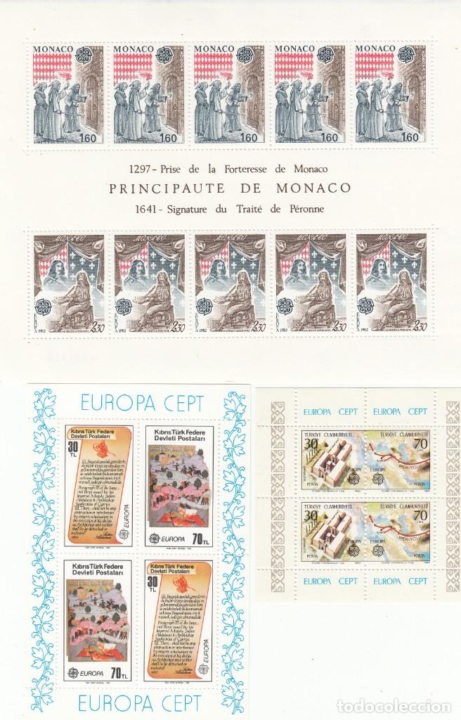 Sellos: EUROPA 1982 - NUEVO SIN FIJASELLOS 66 SELLOS + 6 HB -PUEDE SOLICITAR LOS SELLOS QUE LE FALTEN - Foto 3 - 182199667