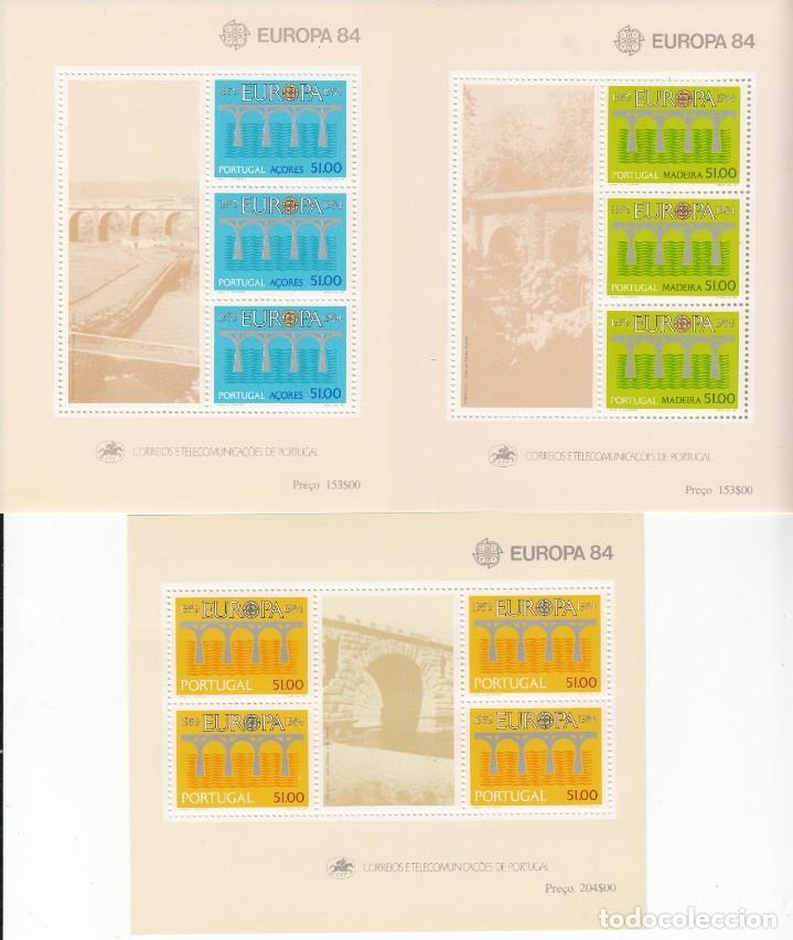 Sellos: EUROPA 1984 - NUEVO SIN FIJASELLOS 66 SELLOS + 4 HB -PUEDE SOLICITAR LOS SELLOS QUE LE FALTEN - Foto 4 - 182200938