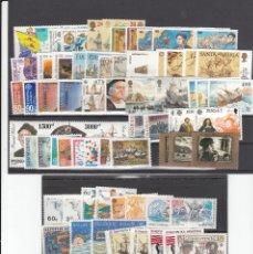 Sellos: EUROPA 1992 - NUEVO SIN FIJASELLOS 82 SELLOS + 9 HB -PUEDE SOLICITAR LOS SELLOS QUE LE FALTEN . Lote 182716368