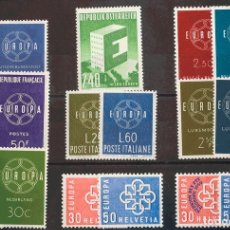 Timbres: TEMA EUROPA. MNH **YV . 1959. AÑO COMPLETO 1959. MAGNIFICO. YVERT 2014: 57 EUROS. REF: 45539. Lote 183127652