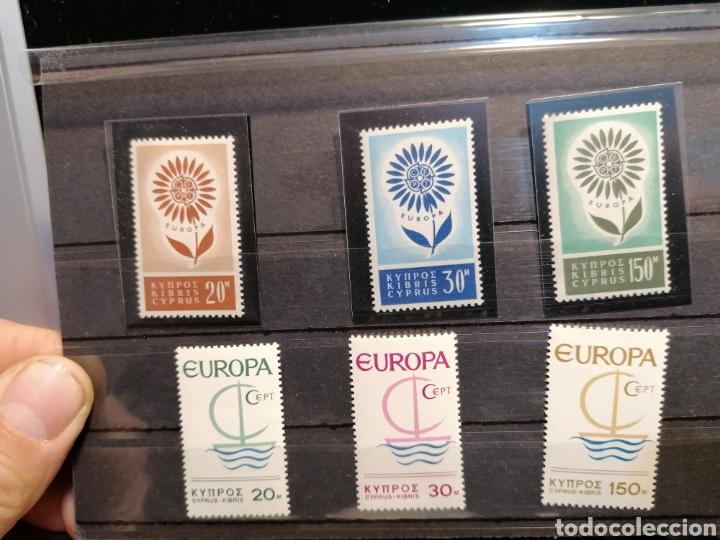 SELLOS CHIPRE NUEVOS EUROPA 1964 YVERT 232/4 CATÁLOGO 75€ (Sellos - Temáticas - Europa Cept)