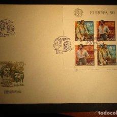 Sellos: SOBRE DE PORTUGAL 1980 CON MATASELLO. Lote 192747577