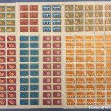 Sellos: 2005 SERBIA MONTENEGRO STANLEY GIBBONS SG132-139 50 ANIVERSARIO EUROPA CEPT PLIEGOS COMPLETOS MNH**. Lote 195050598