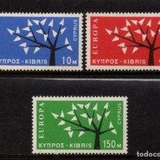 Sellos: CHIPRE 207/09** - AÑO 1962 - EUROPA. Lote 196991906